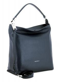 !!!Beuteltasche Keyla Coccinelle dunkelblau Schultergurt Bleu Noir Hobo Bag, Rebecca Minkoff, Bags, Fashion, Ladybug, Dark Blue, Leather, Handbags, Moda