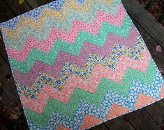 Cat Applique, Applique Quilts, Map Quilt, Rainbow Quilt, Chevron Quilt, Baby Chevron, Feed Sacks, Quilt Sizes, Blanket Stitch