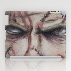 Rob Zombie Illustration iPad Case by Noelle Fontaine - $60.00