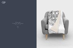 Sherpa Blanket Mockup by dennysmockups on @creativemarket