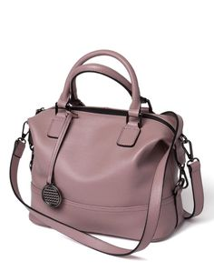 acc6c683010 #VIPshop Purple Plain Cowhide Leather Women's Handle Bag ❤ Get more outfit  ideas and