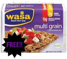 FREE Wasa Crackers + Money Maker at Walmart and Target! http://becomeacouponqueen.com