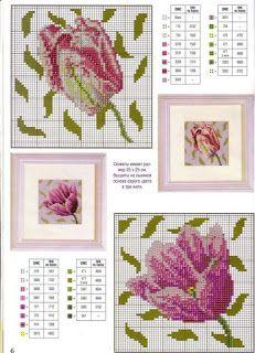"""Милые сердцу штучки: """"Тюльпаны. Обзор дизайнов и схем"""""""