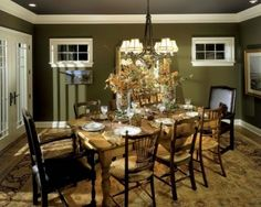Green Dining Room Colors decorating with green walls, accents, and accessories | sage green