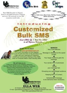 Learn Bulk SMS Business Here On Nairaland - Webmasters (5) - Nigeria