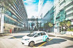 Prueban los primeros taxis autónomos en Singapur