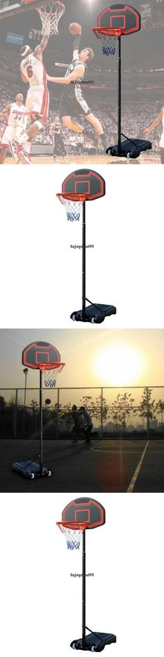 Rims and Nets 158962: New Basketball Stand Backboard Net Rim Hoop Set For Children Adult Pe Base Oo55 -> BUY IT NOW ONLY: $71.58 on eBay!