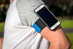 The Quad Lock iPhone 6/6S running armband is the ultimate Sports Armband for to runners, joggers and gym goers. The Quad Lock Sports Armband fits effortlessly and securely onto your arm or over sportswear. No longer will you have to struggle trying to fit your iPhone 6/6S into a neoprene or plastic pouch. With the Quad Lock Sports Armband you are only a click away from easy access to your iPhone 6/6S and you can be confident that it is securely attached to your arm.<br /> Now your iPhone…