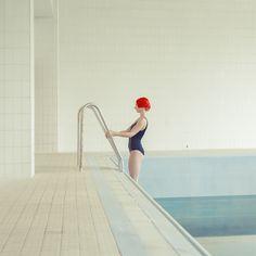 """Swimming Pool"" by artist Maria Svarbova. Swimming Pool Photography, Underwater Photography, Artistic Photography, Image Photography, Conceptual Photography, I Love Swimming, Pool Fashion, Shooting Photo, Pretty Photos"