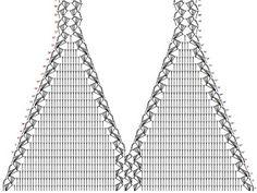 Maya crochet bikini crop top pattern