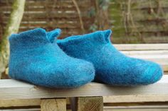 Filzpantoffel by schoenefarben, via Flickr