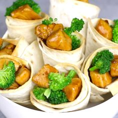 Teriyaki Chicken Cones are so fun to make for a party. Teriyaki chicken is load. Teriyaki Chicken Cones are so fun to make for a party. Teriyaki chicken is loaded into crispy tortilla cones with broccoli for a mouthwatering appetizer everyone will love. Appetizer Recipes, Dinner Recipes, Party Appetizers, Appetizer Ideas, Meat Appetizers, Mexican Appetizers, Easter Recipes, Party Snacks, Thanksgiving Recipes