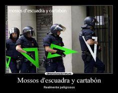 mossos de escuadra... y cartabon