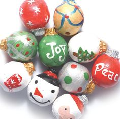 Peruvian Hand Crafted Ceramic Christmas Ornament Mixture No2 17mm 10 per Pack * You can get additional details at the image link.