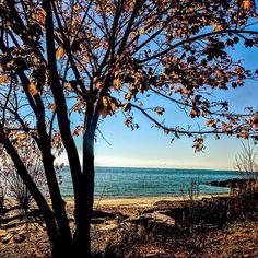 #lakeontario #ontario #canada #photooftheday #iphonephotography #fallweather #fallleaves #ig_captures #instagood #beautiful #views #photooftheday #nature_brilliance #nature_lovers Ontario, Canada, Lovers, Celestial, Sunset, Beautiful, Park, Beach, Nature