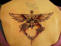Bon Jovi's logo tattoo by Miguel Angel tattoo, via Flickr