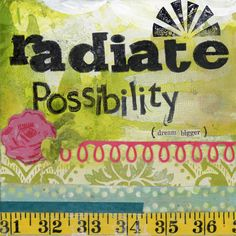 Radiate possibilities  - Print