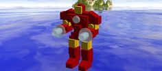 Lego Iron Man mark 3