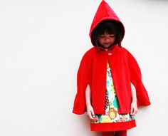 Hey, I found this really awesome Etsy listing at https://www.etsy.com/listing/156823289/girls-jacket-cape-red-riding-hood-red