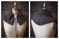Claire's Outlander Capelet by KnitterlyYarns on Etsy