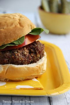 Bacon and Blue Cheese Stuffed Burgers - Family Food And Travel