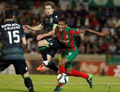 Triunfo nos Barreiros teve pé de Adrien e mão de Patrício - Sporting vence Maritimo com golo de Adrien 5DEZ2015 - DN
