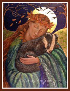 Badger Love  Wendy Andrew