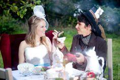 Alice im Wunderland Hochjzeit - Alice in Wonderland Wedding - von im Hochzeitsfieber und Fotomania Kassel