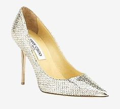 Jimmy Choo Champagne Pump