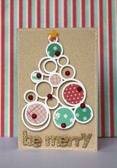 christmas tree cards by eva pizarro evapizarrov using from me to you collection