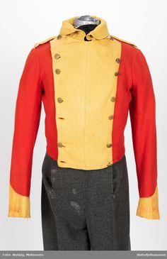 Military Uniforms, 19th Century, Motorcycle Jacket, 18th, British, Yellow, Fashion, Moda, Fashion Styles