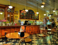 Beth Marie's!!! Many a night was spent here during college. Best ice cream ever.