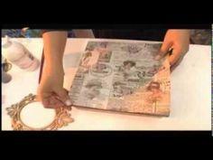 Caixas Vintage - Hora de Arte - Arte Fácil (+playlist)