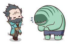#Dota2 dota2-blog:  Dota2 Sticker - Kunkka and Tidehunter
