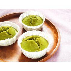 クミタス レシピ 抹茶の米粉蒸しパン(卵・乳製品・小麦・イースト不使用)