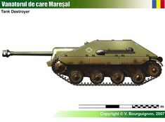 Maresal Military History, Military Art, Tank Drawing, Tank Destroyer, Model Tanks, Armored Fighting Vehicle, New Tank, Tank Design, World Of Tanks