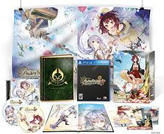 Buy Atelier Sophie: The Alchemist of the Mysterious Book Collectors Edition at online store Latest Video Games, Video Game Collection, I Am Game, Alchemist, Mystery, Gallery Wall, Books, Anime, Mysterious