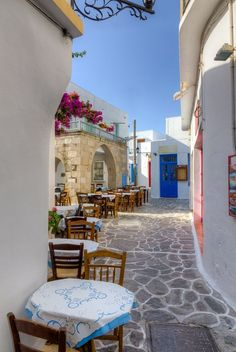 Beautiful alley in Plaka village - Milos island -Cyclades, Greece Greece Vacation, Greece Travel, Vacation Destinations, Dream Vacations, Vacation Resorts, Vacation Spots, Cool Places To Visit, Places To Travel, Beautiful Islands