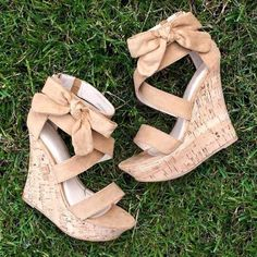 #Love #Wedges Insanely Cute Shoes