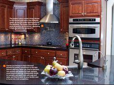 Love this kitchen. Thanks Granite Transformations!