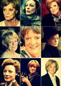Maggie Smith- battled breast cancer while filming the last Harry potter's