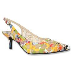 Wide Width Shoes: Pumps & Slings for Women Plus Size Work, Wide Width Shoes, Slingback Pump, Beautiful Shoes, Plus Size Outfits, Me Too Shoes, Kitten Heels, Dress Shoes, Pumps