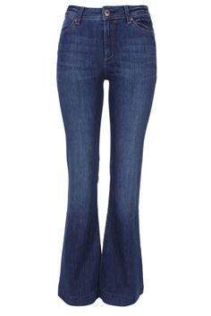 """Daisy"" High Rise Flare Jean, DL1961"