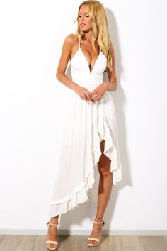 HelloMolly | Doll Baby Maxi White - Maxis - Dresses