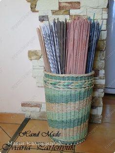 Поделка изделие Плетение Мой зоопарк и плетёнки Бумага газетная Картон Трубочки бумажные фото 16