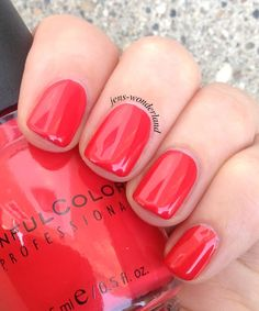 Jen's Wonderland: Sinful Colors: Energetic Red and the new display!