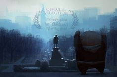 No tigers in The Dam Keeper, but Pig frequently trains to that song. Pig's headed to the home of 'Rocky', to attend the Philadelphia International Children's Film Festival, presented by the Philadelphia Film Society! Tickets on sale May 23. Illustration by Dice Tsutsumi.  http://filmadelphia.org/picff-short-film-programs/