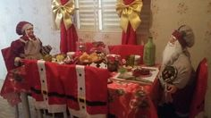 Mesa do Papai Noel