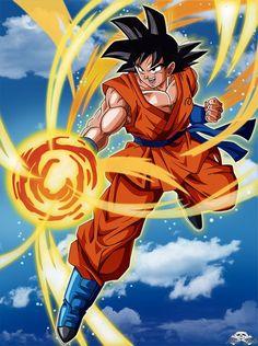 Son Goku by Niiii-Link on @DeviantArt - Dragon ball