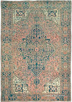 FERAHAN SAROUK, West Central Persian 8ft 8in x 12ft 6in Circa 1900